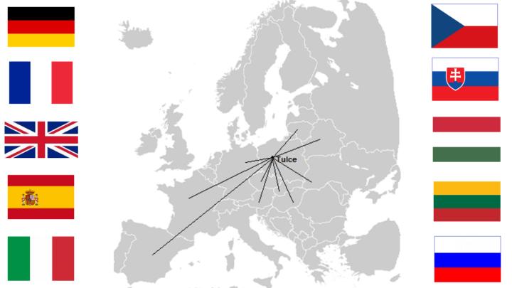mapa z flagami 1